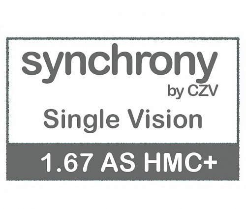Synchrony Single Vision AS 1.67 HMC+ фото 1