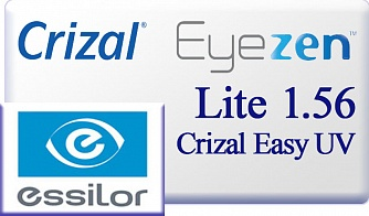 Essilor EyeZen Lite 1.56 Crizal Easy UV