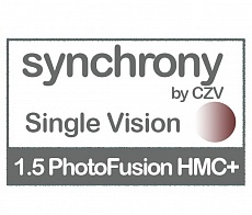 Synchrony Single Vision 1.5 PhotoFusiom HMC+