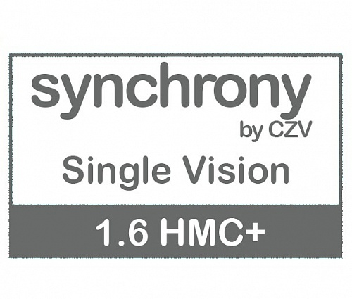 Synchrony Single Vision 1.6 HMC+ фото 1