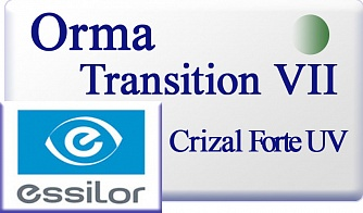 Essilor Orma 1.5 Transitions VII gg Crizal Forte UV
