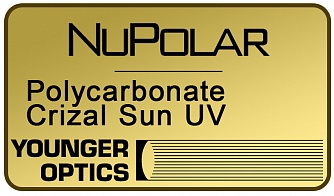NuPolar Polarized Polycarbonate 1.59 Crizal Sun UV