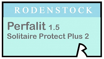 Rodenstock Perfalit 1.5 Solitaire Protect Plus 2