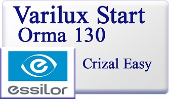 Essilor Varilux Start Orma 1.5 130 Crizal Easy