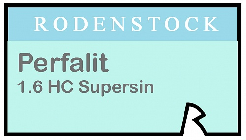 Rodenstock Perfalit 1.6 HC Supersin фото 1