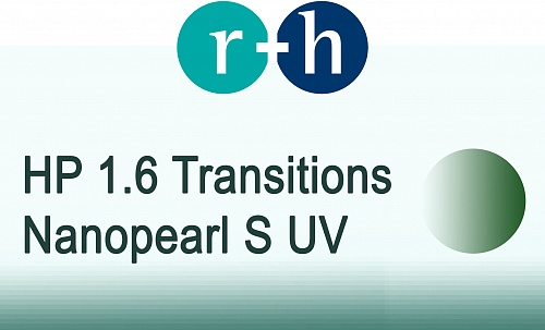 r+h HP 1.6 Transitions (graphitgreen) Nanoperl•S UV фото 1