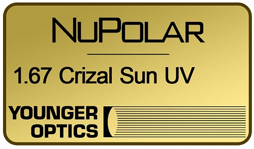 NuPolar Polarized 1.67 Crizal Sun UV фото 1