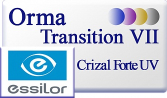 Essilor Orma 1.5 Transitions VII Crizal Forte UV