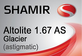 Shamir Altolite 1.67 AS Glacier (astigmatic)
