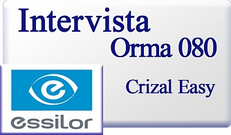 Essilor Intervista Orma 1.5 080 Crizal Easy