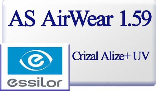 Essilor AS Airwear 1.59 Crizal Alize+ UV фото 1
