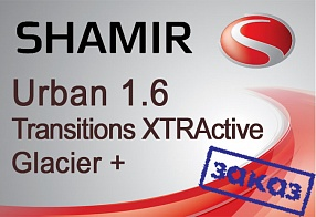 Shamir Urban 1.6 Transitions XTRActive Glacier+ UV