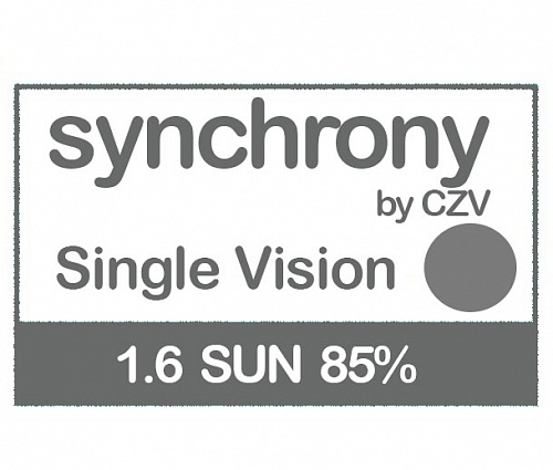 Synchrony Single Vision 1.6 SUN фото 1