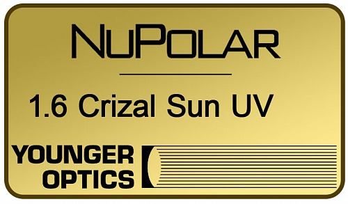 NuPolar Polarized 1.6 Crizal Sun UV фото 1