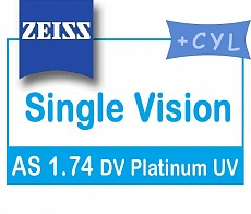 Carl Zeiss SV AS 1.74 DV Platinum UV (cyl)