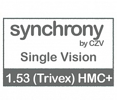 Synchrony Single Vision 1.53 (Trivex) HMC+