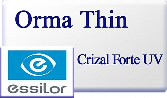 Essilor Orma 1.5 Thin Crizal Forte UV