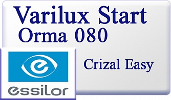 Essilor Varilux Start Orma 1.5 080 Crizal Easy